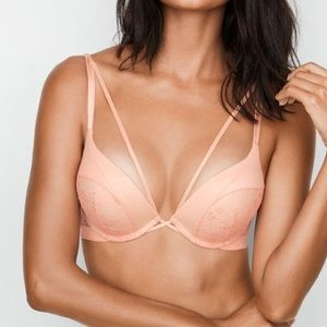 Victoria's Secret Bombshell Peach Bra